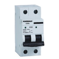 Powermax Double Pole MCB 63A