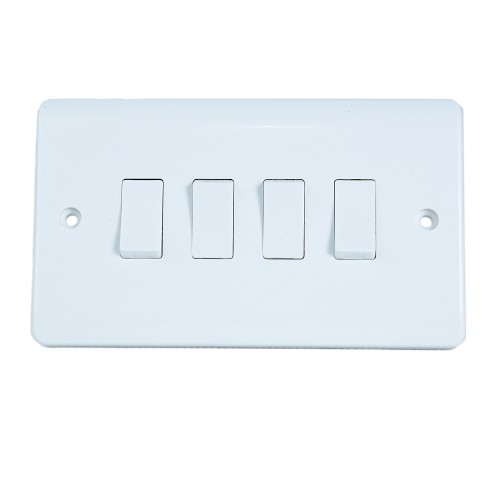Powermax 4 Gang 2 Way Switch 3x3